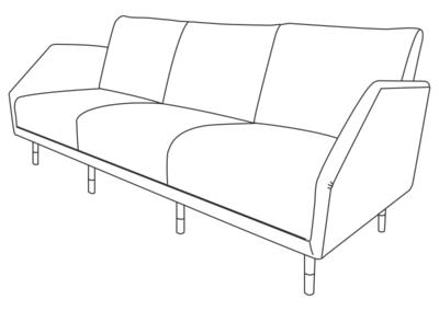 BO77 sofa